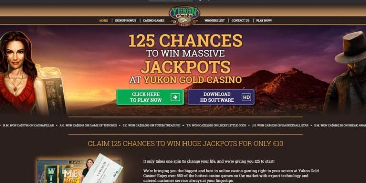 about yukon gold casino