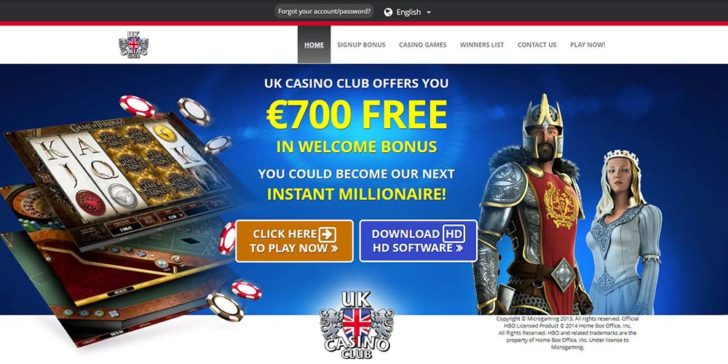 review about uk casino club