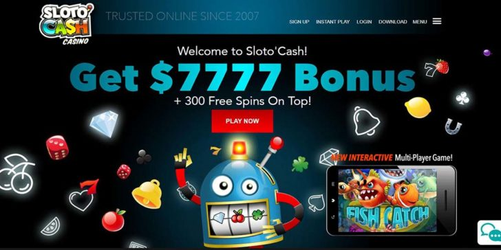 review about slotocash casino