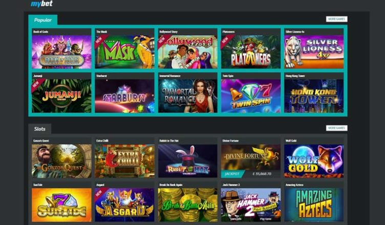 about mybet casino