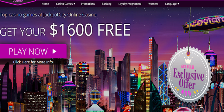 Jackpot City Mobile Casino Home Page