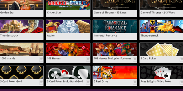 Play these games at Jackpot City Mobile Casino!