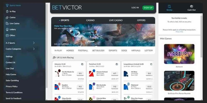 review about betvictor