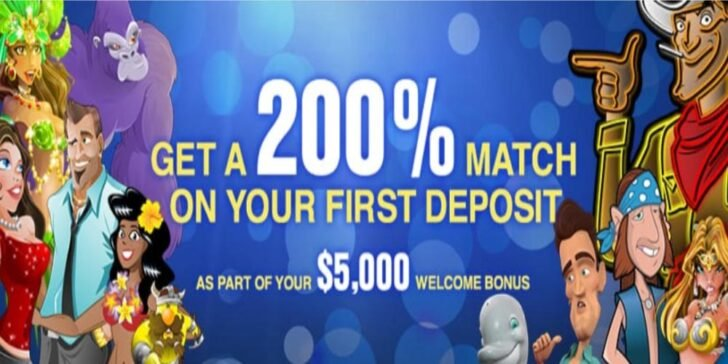 about Slots.lv Casino Welcome Bonus