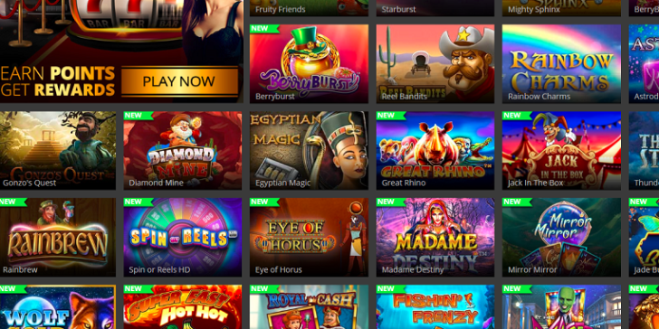 Available slots at Hopa Mobile Casino