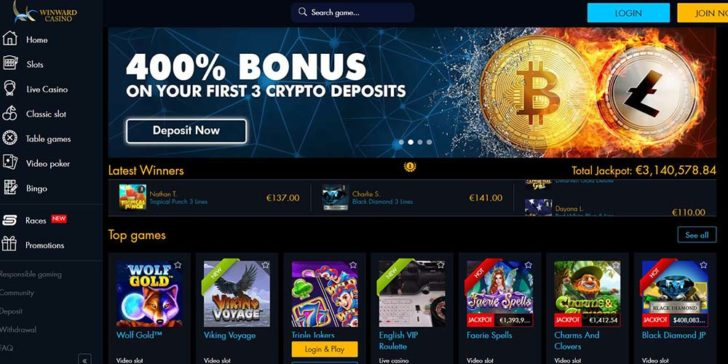 review about winward casino