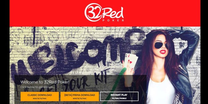 review about 32red poker