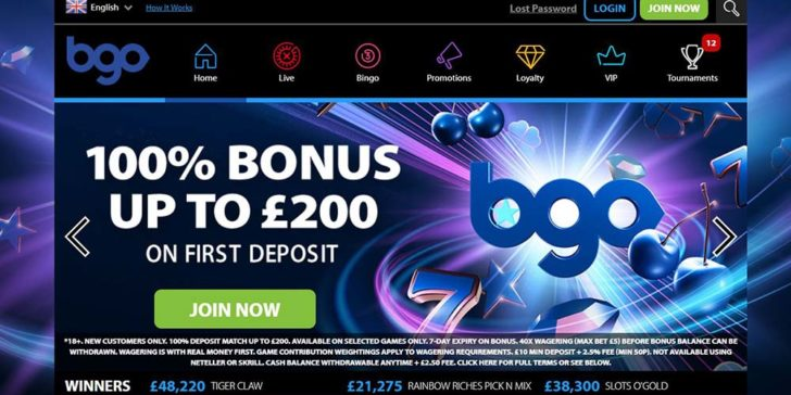review about bgo casino