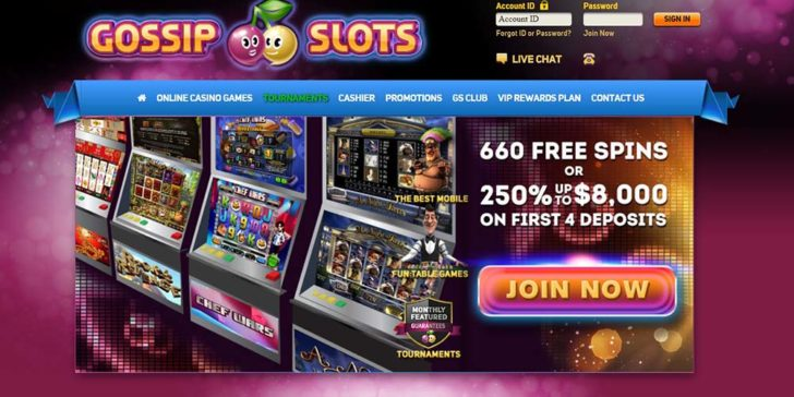 review about gossips slots casino