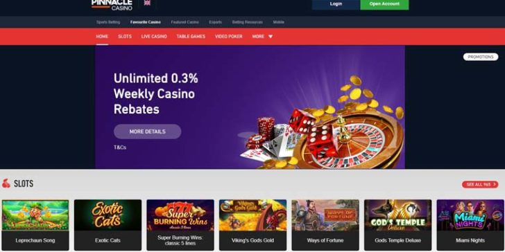 review about pinnacle casino