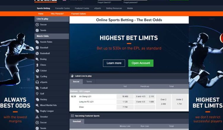 review about pinnacle sportsbook