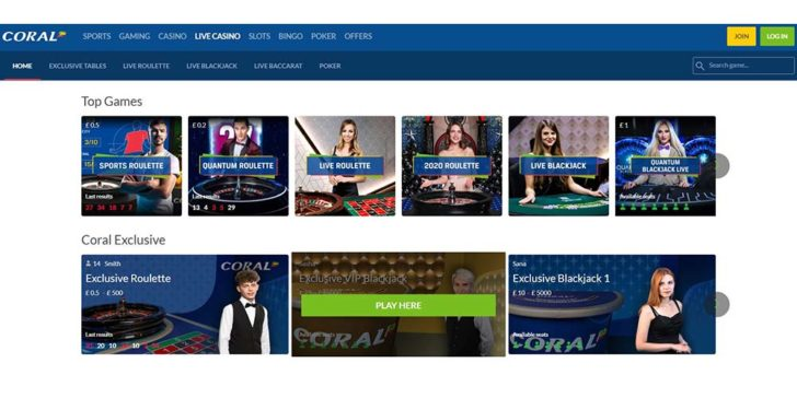 review about coral casino