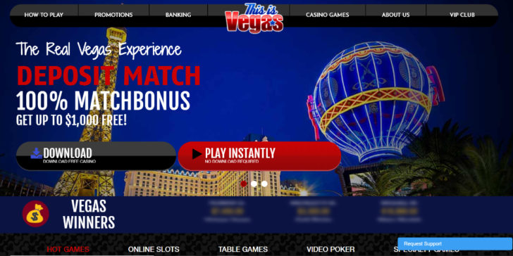 Review about This Is Vegas Casino Welcome Bonus Online Casino Sites Best Internet Casinos Online Gambling Sites GamingZion.com Online Casino Reviews Online Casino Bonuses