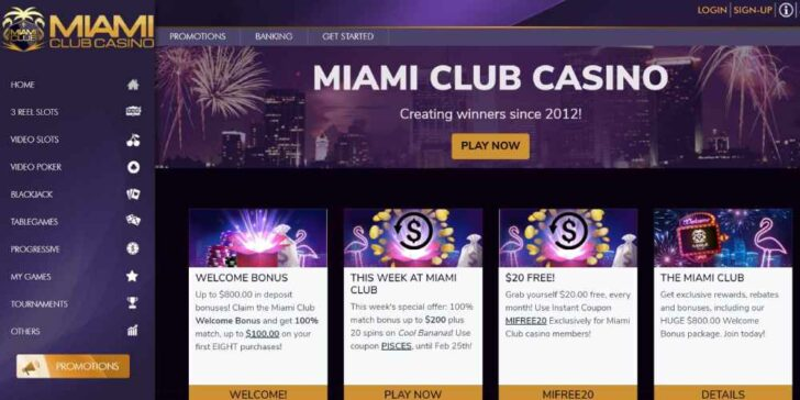review about miami club casino