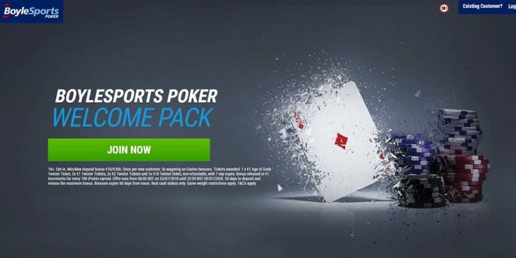 review about boylesports poker