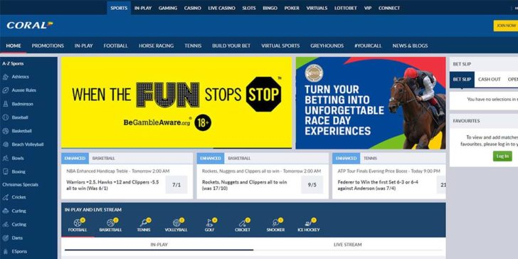 review about coral sportsbook