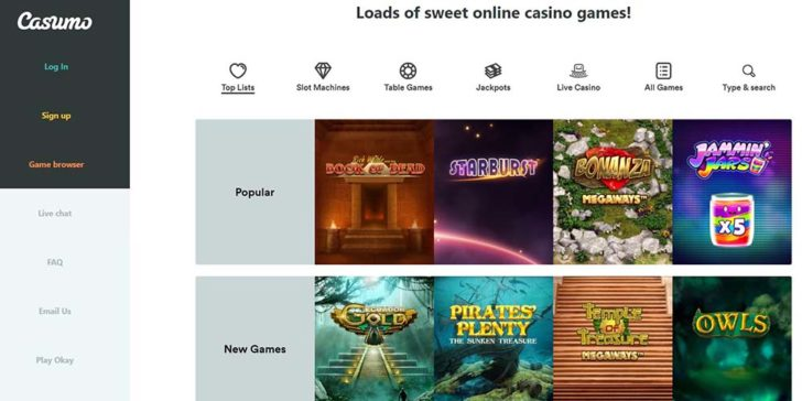 review about casumo casino