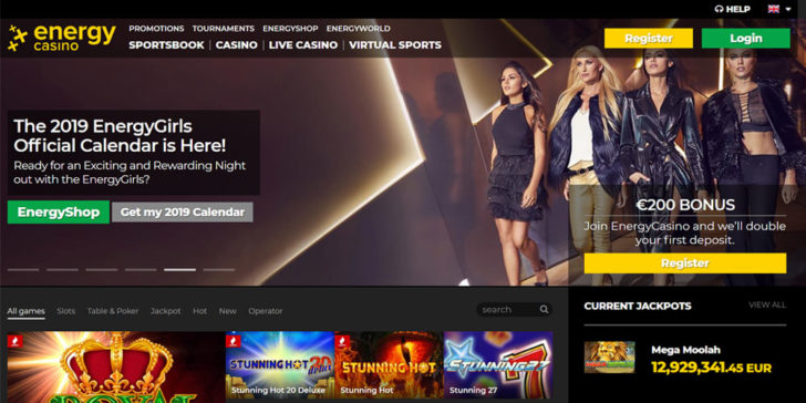 Review about Energy Casino