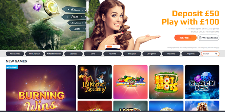 Review about NetBet Casino