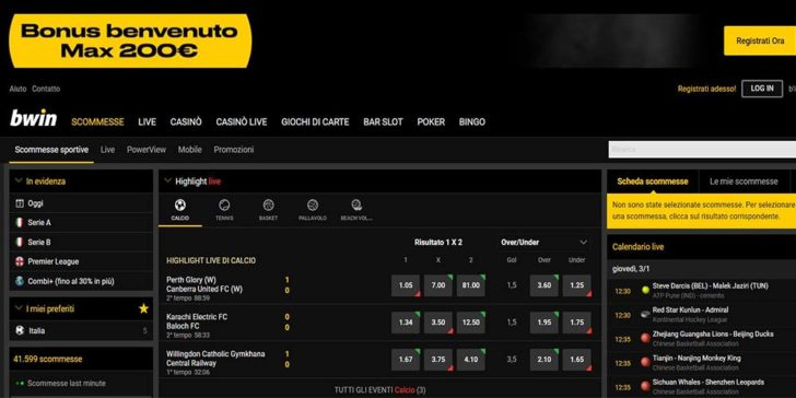 review about bwin.it