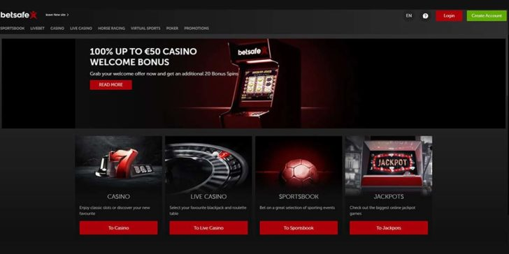 review about betsafe casino