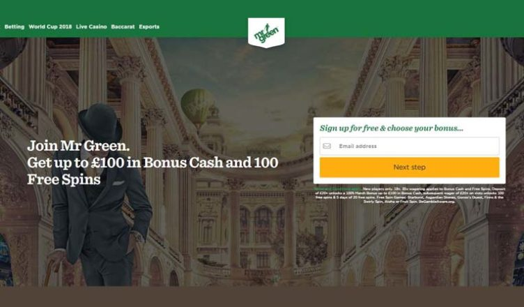 about mr green casino
