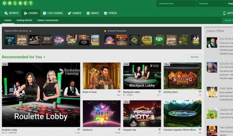 review about unibet casino