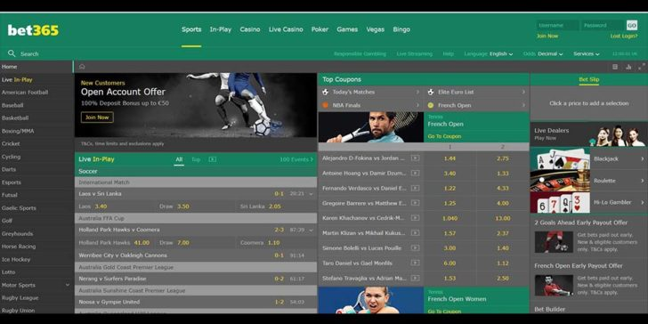 review about bet365 spprtsbook