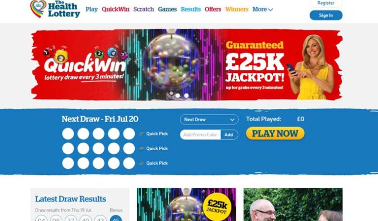 review about the the health lottery