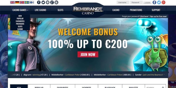 review about rembrandt casino