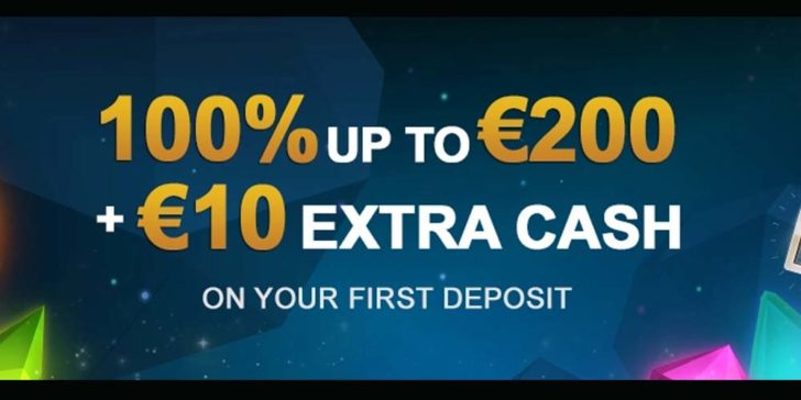 videoslots casino welcome bonus