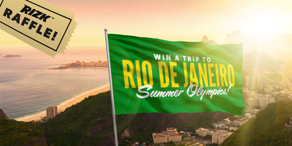 Win Tickets to Olympics 2016 Thanks to Rizk Casino's Weekly Promo!
