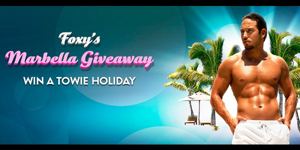 Foxy Bingo VIP TOWIE Holiday in Spain promo