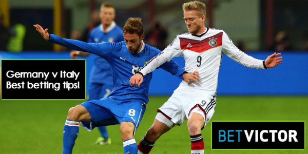 Germany v Italy Odds & International Friendly Tips Euro 2016 preparation best odds best price easy betting sites