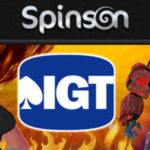 Double Loyalty Points with IGT Games at Spinson Casino until 17 April!