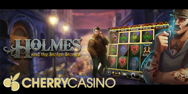 Cherry Casino Sherlock Holmes slot tournament promotion