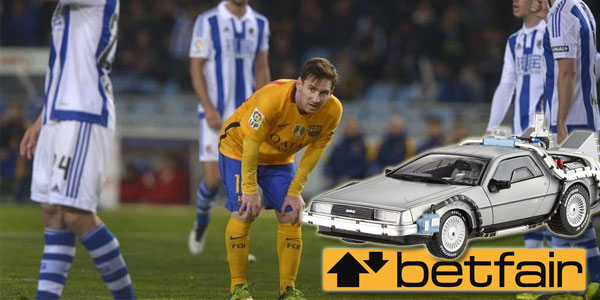 Perfect Bet Prediction - Betfair Customer Sees the Future? sports betting UK