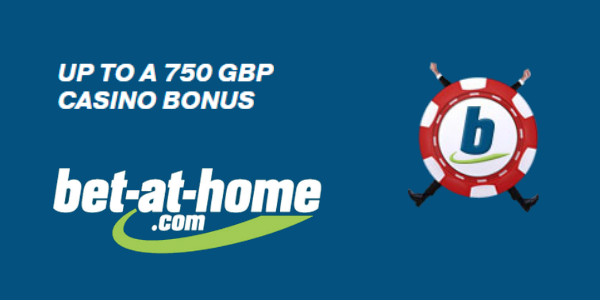 Bet-at-home Casino First Deposit Casino Bonus promotion