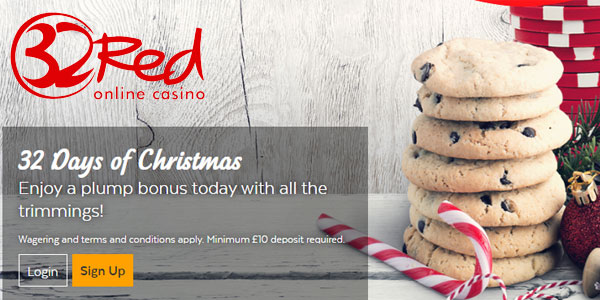 32Red Casino Christmas Giveaway
