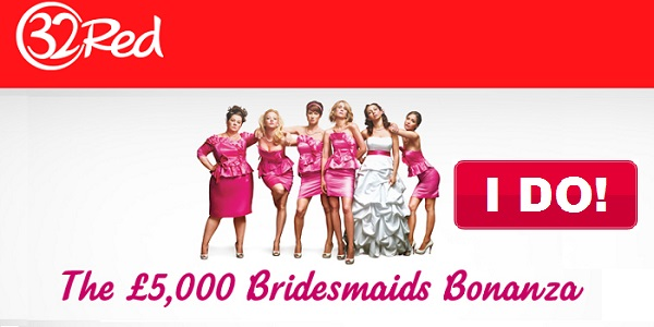32Red Casino Bridesmaids Slot Promo
