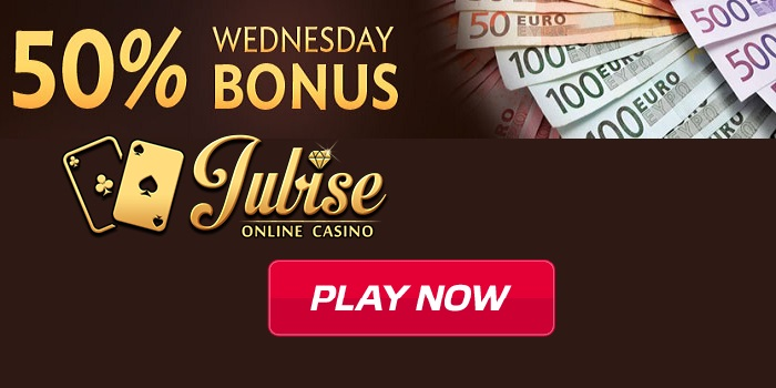 Jubise Casino Wednesday Bonus promo