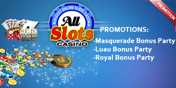 New Year's Bonus Party at All Slots Casino promotion