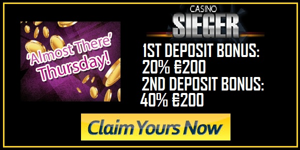 Casino Sieger Almost There Thursday