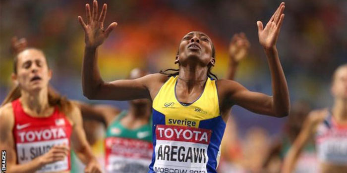 Abeba Aregawi, former world champion, who has tested positive for doping and been suspended