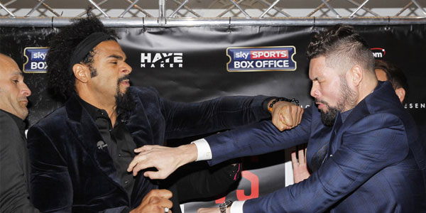 Haye vs Bellew special bets