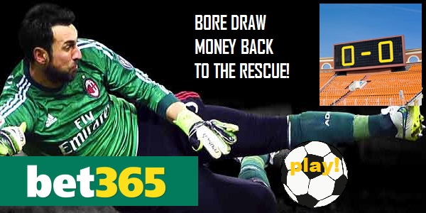 Safe Soccer Betting with the Bet365 0-0 Refund Offer
