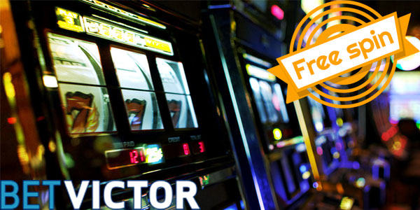 Free spins with BetVictor