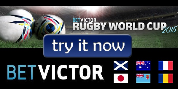 Get 20% Real Cash Bonus for the Rugby World Cup with the BetVictor Promo