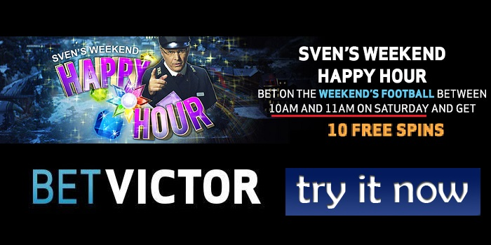 Sven's Happy Hour at BetVictor Casino!