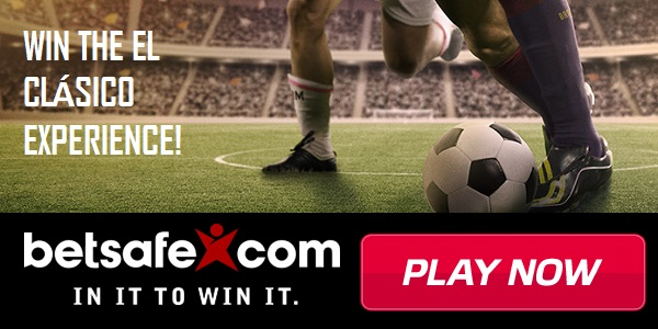 Play at Betsafe Sportsbook and Win Tickets to El Clásico